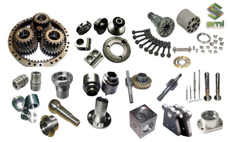 SMI hợp tác gia công cơ khí đa dạng các chi tiết máy