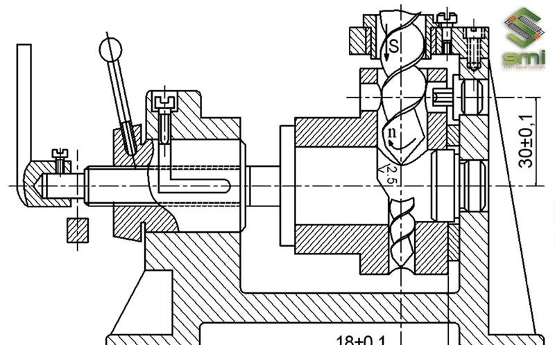 Bản vẽ đồ gá sử dụng trong chế tạo máy