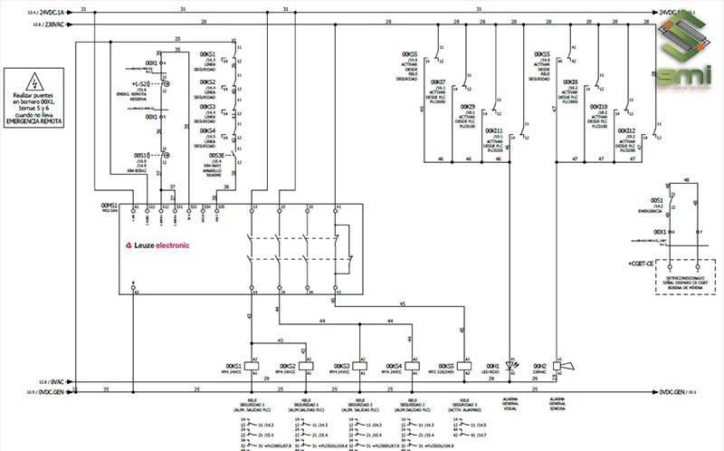 Bản vẽ kỹ thuật hệ thống điện nhà xưởng
