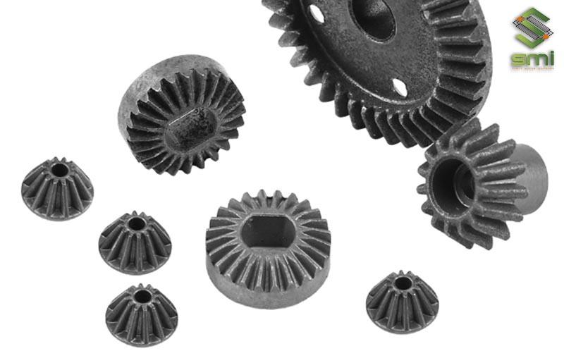 Sản phẩm bánh răng côn từ gia công cơ khí máy CNC