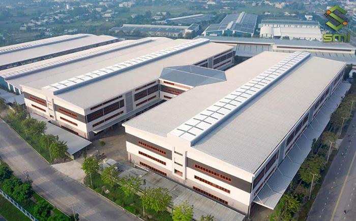 Báo giá nhà xưởng phụ thuộc vào một trong hai yếu tố: loại hình nhà xưởng và diện tích nhà xưởng