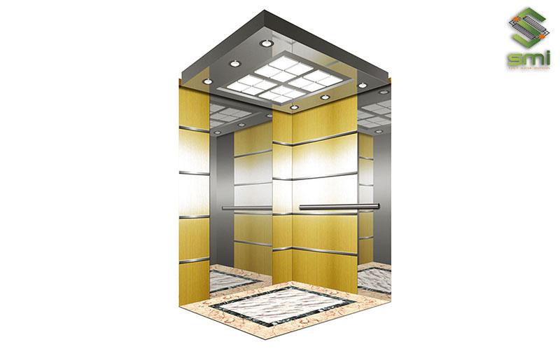 """Khoang cabin thang máy là một thành phần quan trọng, quyết định đến """"bộ mặt"""" của thang máy"""