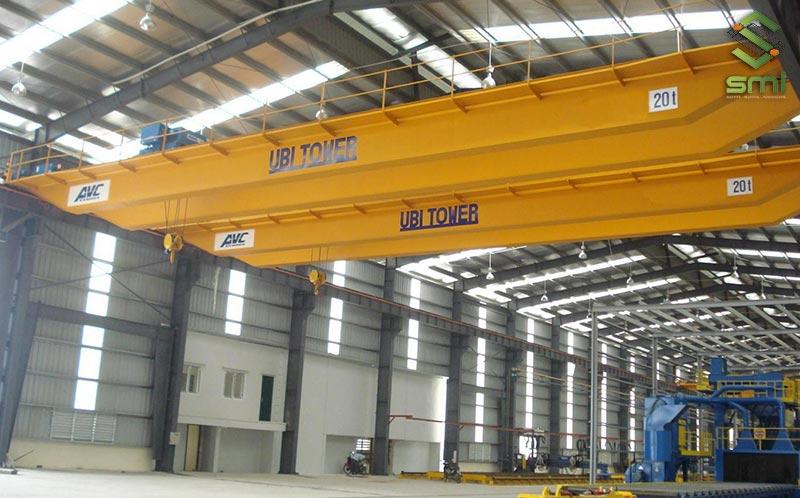 Cầu trục nhà xưởng mang lại nhiều lợi ích lớn cho doanh nghiệp