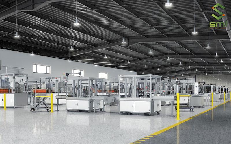 Hệ thống điện chiếu sáng nhà xưởng cần được thiết kế một cách chi tiết và cụ thể nhất