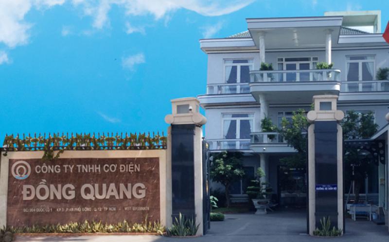 Diện mạo bên ngoài công ty gia công cơ khí Đồng Quang