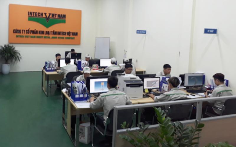 Văn phòng Công ty gia công cơ khí Intech Việt Nam