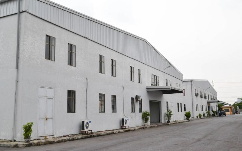 Công ty gia công cơ khí Tùng Yên với khuôn viên nhà xưởng rộng