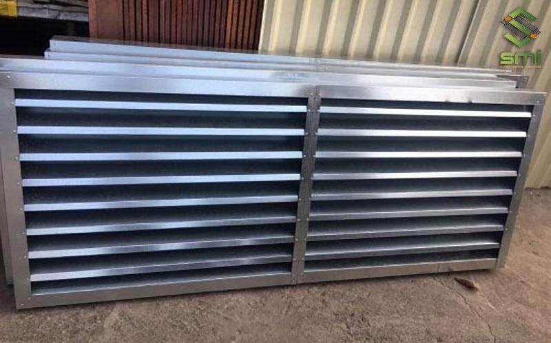Cửa chớp kim loại là loại cửa chớp phù hợp nhất để thông gió công nghiệp