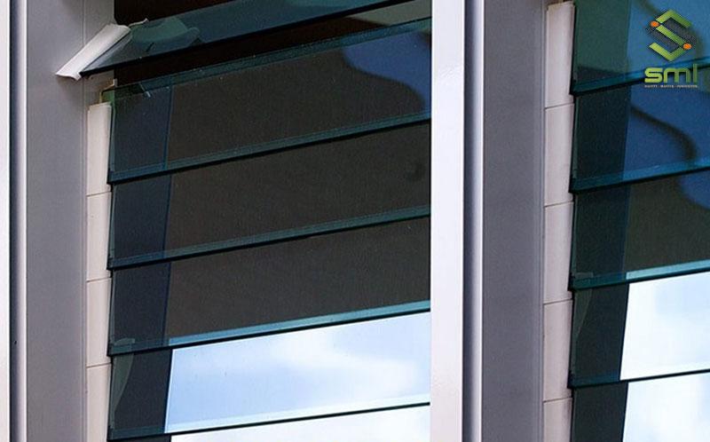 Các loại cửa chớp kinh không chỉ giúp thông gió, lấy ánh sáng mà còn đem lại tính thẩm mỹ cao cho công trình