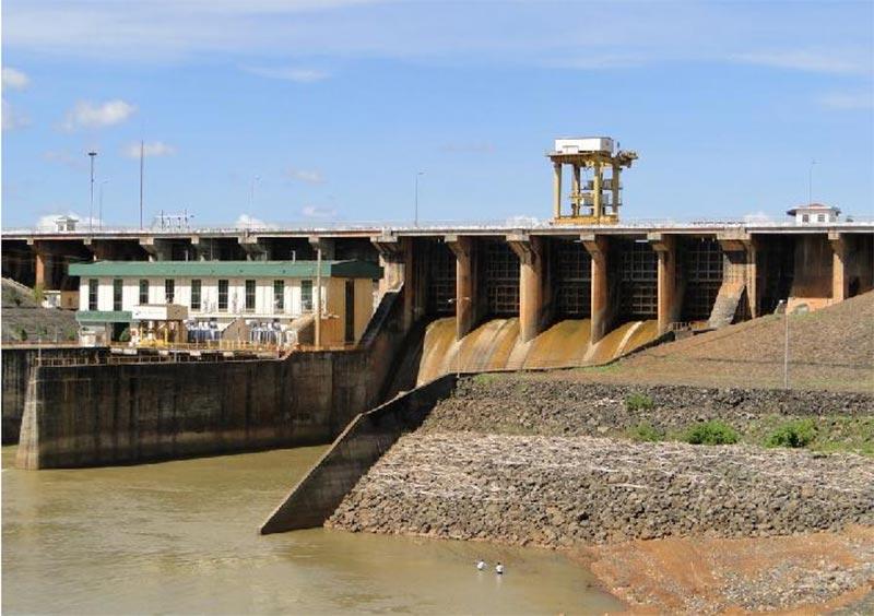 Dự án nhà máy thủy điện Cần Đơn do công ty xây dựng công nghiệp Sông Đà