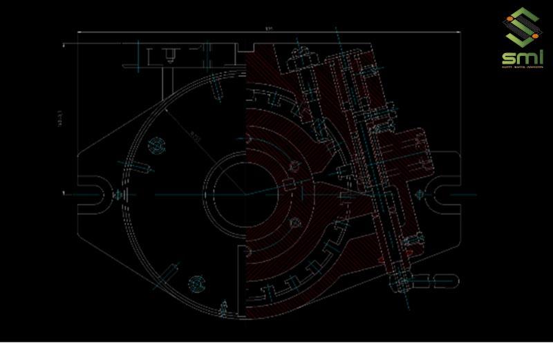 Bản vẽ chi tiết đầu phân độ
