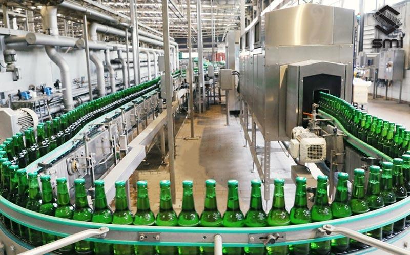 Bố trí mặt bằng nhà máy được tối ưu hóa theo sản phẩm