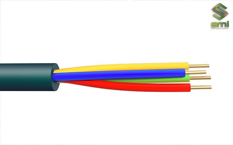 Điện3 pha trong công nghiệp gồm 1 dây trung tính và 3 dây nóng