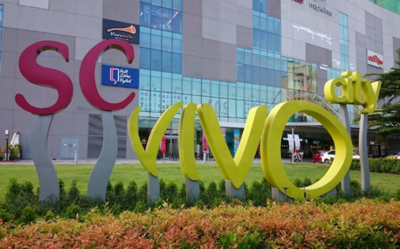 Công ty Liên Thành đã lắp đặt hệ thống điện công nghiệp tại SC Vivocity Shopping Mall
