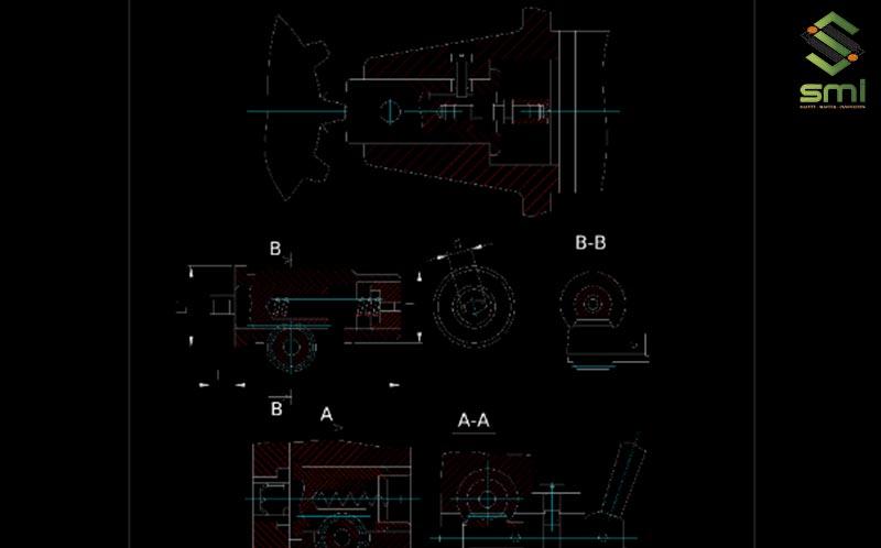 Bản vẽ thiết kế đồ gá khoan