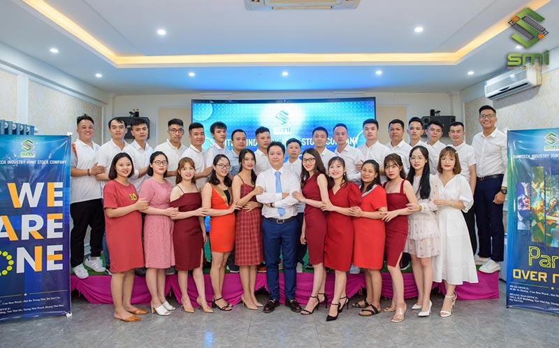 Đội ngũ nhân sự của công ty cổ phần công nghiệp SUMITECH