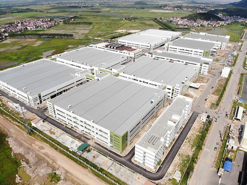 Dự án Goertek Việt Nam được thực hiện bởi công ty xây dựng công nghiệp ICONS