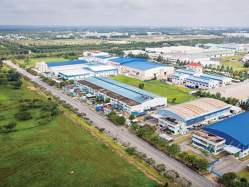 Một dự án xây dựng công nghiệp do công ty ICC thực hiện