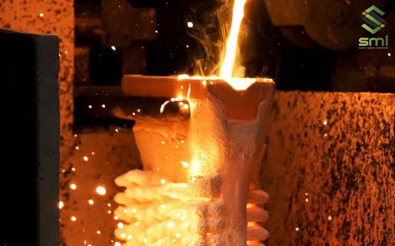 Quá trình gia công cơ khí đúc kim loại