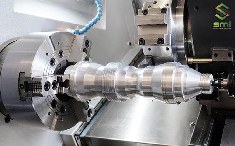 Gia công cơ khí tiện phay bào bằng máy CNC với hiệu suất và độ chính xác cao