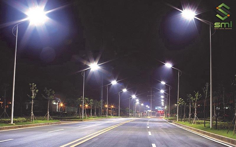 Hệ thống đèn đường chiếu sáng khu công nghiệp nhà xưởng
