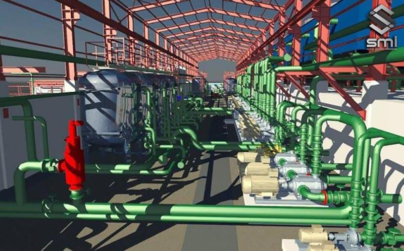 Hệ thống cấp thoát nước đóng vai trò quan trọng trong việc sản xuất của khu công nghiệp