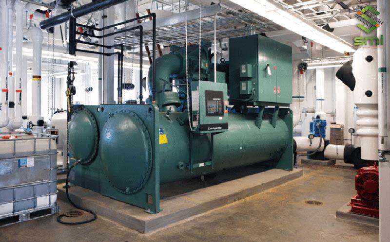 Làm mát bằng hệ thống Chiller cũng là cách quản lý nhiệt độ nhà xưởng hiệu quả
