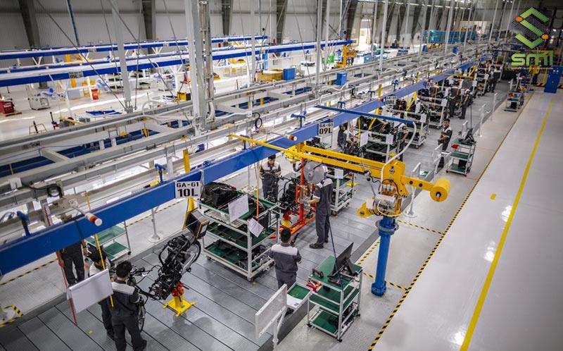 Hệ thống điện công nghiệp bao gồm nhiều phần