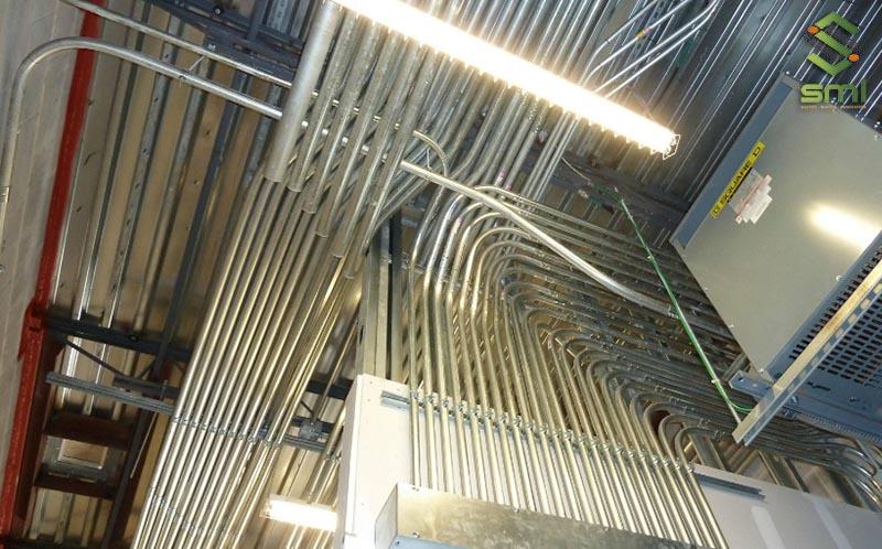 Tính dây dẫn điện nhà xưởng là điều rất quan trọng