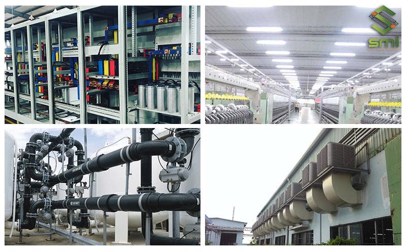 Hệ thống điện cơ công nghiệp là hạng mục quan trọng của doanh nghiệp, nhà xưởng