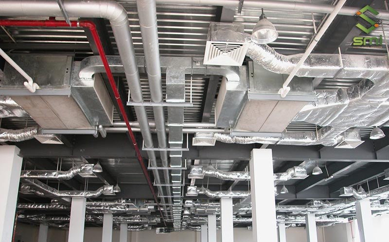 Hệ thống điện lạnh nhà xưởng do SUMITECH thiết kế, thi công