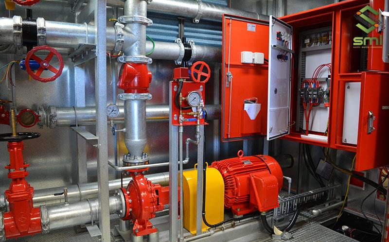 Hệ thống phòng cháy chữa cháy do SMI thực hiện
