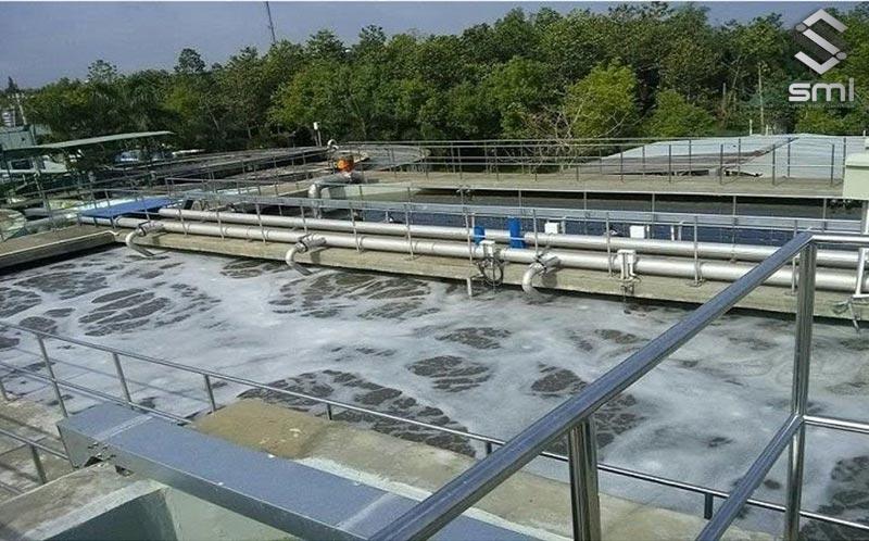 Hệ thống xử lý nước thải là hạ tầng gần như bắt buộc đối với khu công nghiệp theo quy định của pháp luật