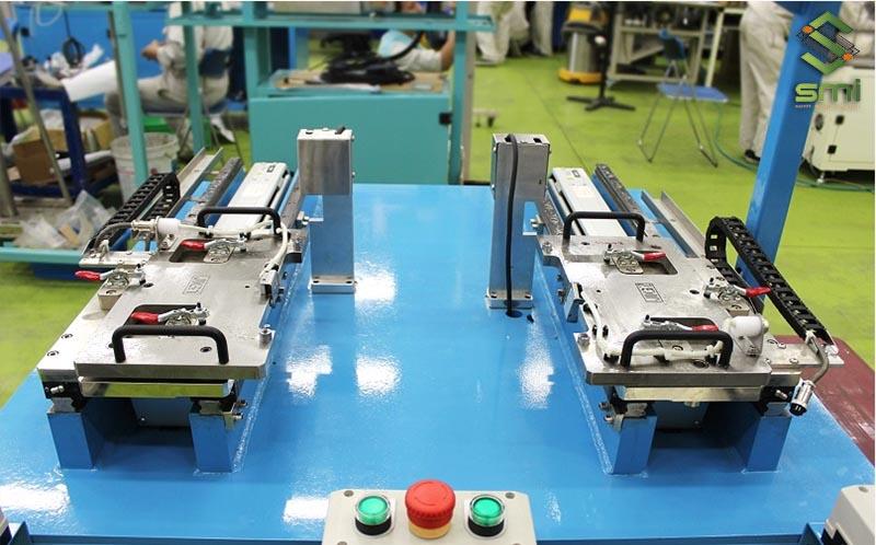 Jig gá kiểm tra chất lượng đầu ra sản phẩm của gia công cơ khí cắt dây