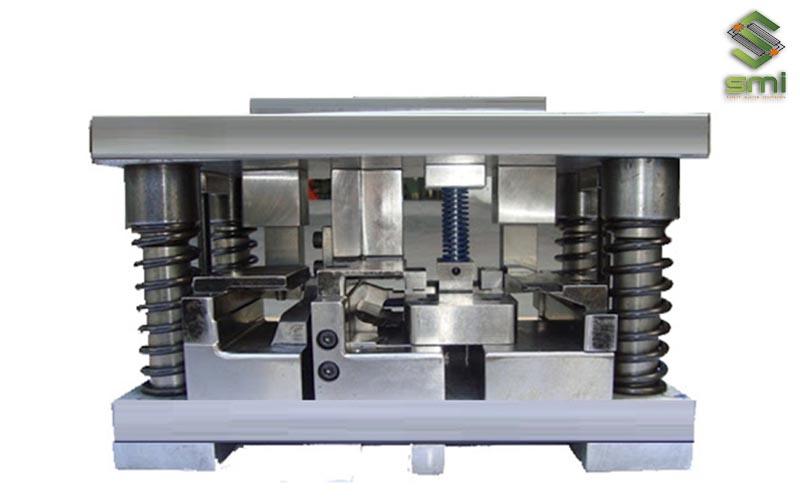 Khuôn cắt dập gia công cơ khí dùng cho vật liệu nhôm