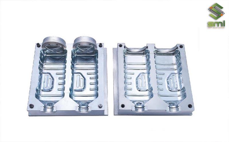 Khuôn thổi gia công cơ khí để sản xuất chai nhựa