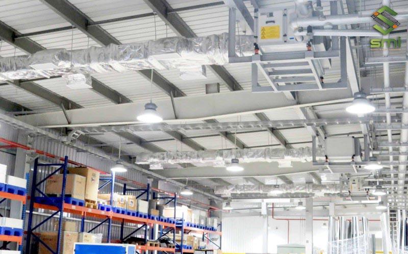 Công ty SUMITECH nhận lắp đặt hệ thống điện chiếu sáng nhà xưởng