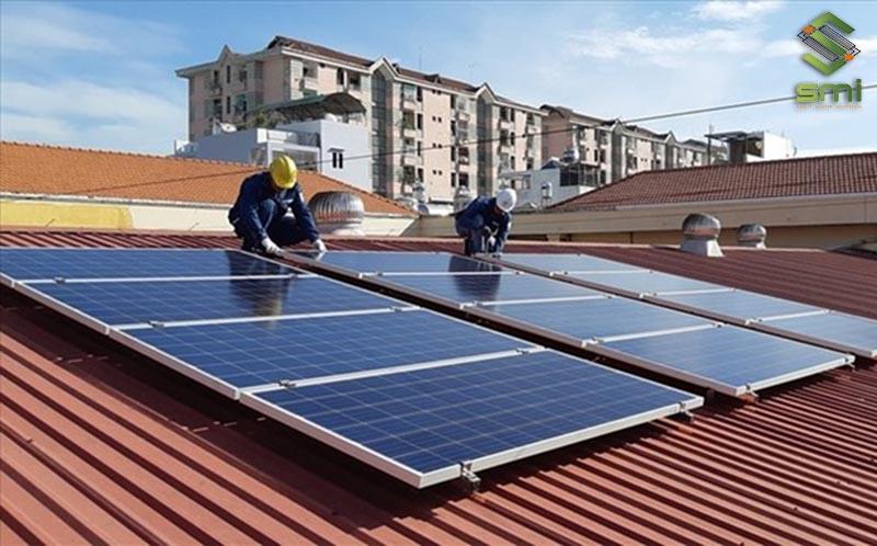 Lắp đặt tấm điện mặt trời nhà xưởng cần cẩn thận, đúng tiêu chuẩn