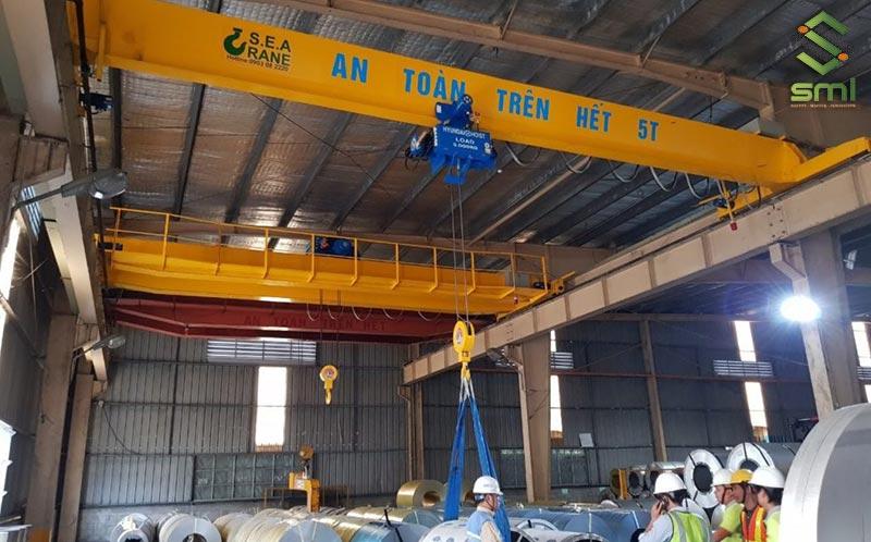 Đào tạo công nhân, kỹ thuật viên sử dụng cầu trục để đảm bảo an toàn, hiệu quả