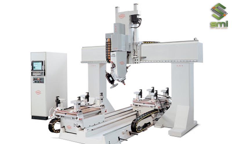 Máy CNC 6 trục được sử dụng để gia công cơ khí