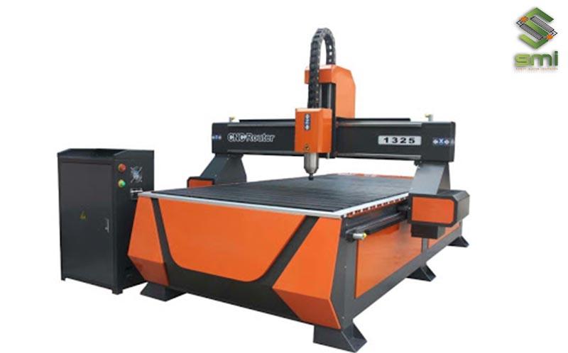 Máy CNC Router phù hợp với việc gia công cơ khí vật liệu có độ cứng thấp