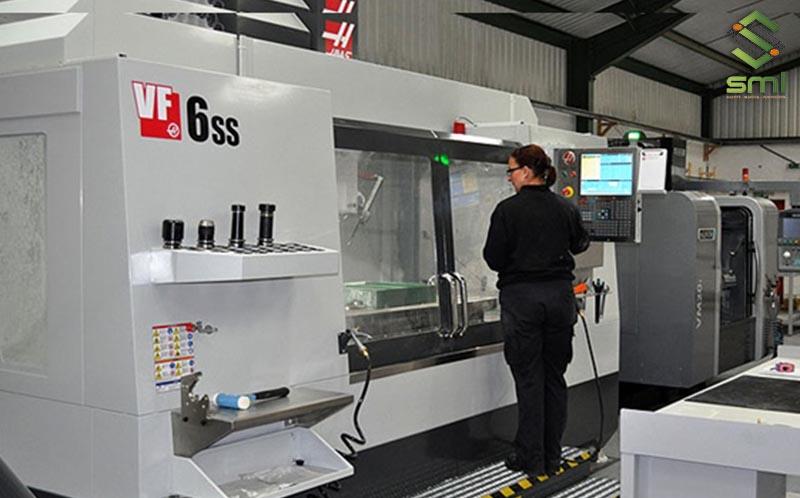 SUMITECH trang bị hệ thống máy CNC hiện đại nhằm nâng cao chất lượng gia công cơ khí chính xác