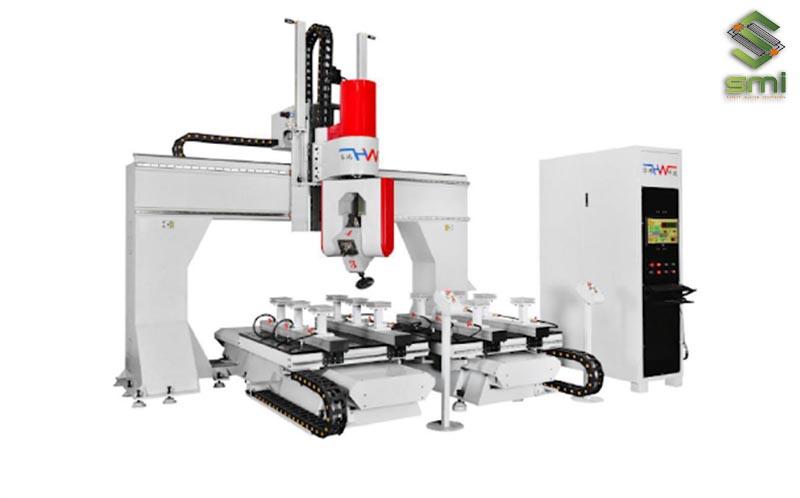 Máy cắt CNC nhiều trục được ứng dụng để tạo hình các sản phẩm phức tạp