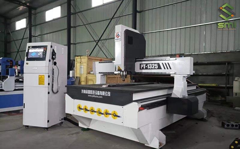 Máy bào CNC đảm bảo độ chính xác cho thành phẩm