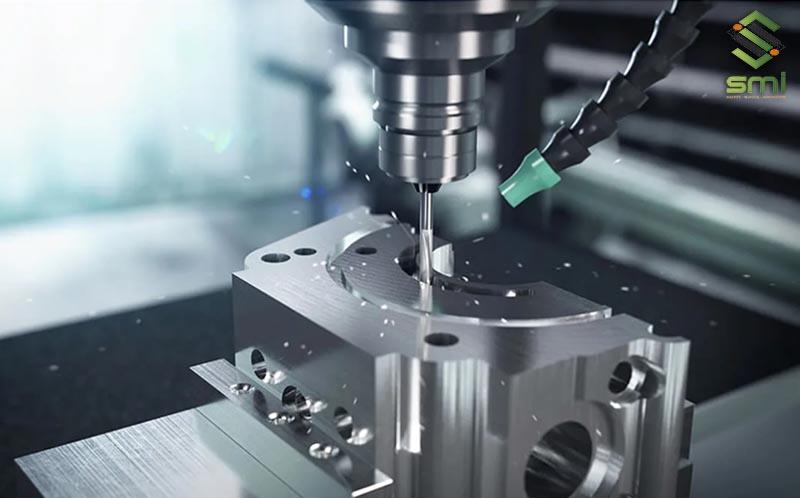 Gia công cơ khí nhôm bằng máy phay CNC