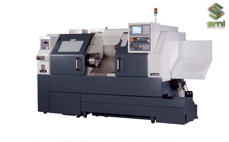 Máy tiện CNC tạo ra sản phẩm có tính đối xứng cao
