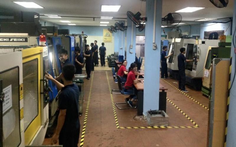 Bên trong phân xưởng Ichi Việt Nam