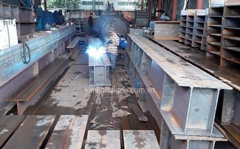 Xưởng gia công của công ty cơ khí, kim khí Sài Gòn