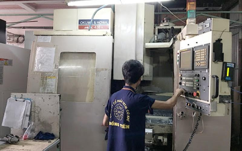 Nhà xưởng công ty gia công cơ khí Đồng Tiến