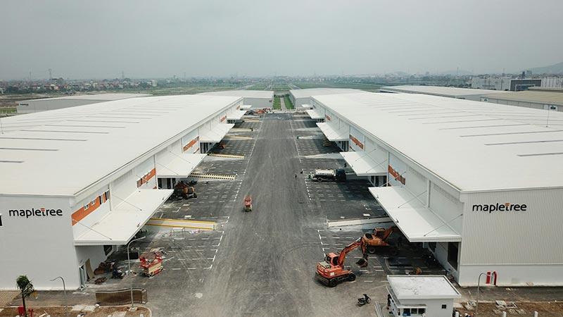 Nhà máy Mapletree Bắc Ninh do Vinaconex thi công